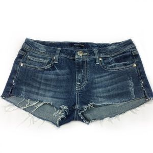 Vigoss Studio Distressed Denim Shorts, Size 7/8